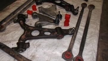 Восстановление рычагов передней подвески Alfa Romeo 156