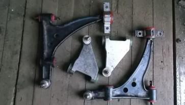 Восстановление рычагов передней подвески Alfa Romeo 166 полиуретаном